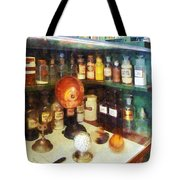 Pharmacy - Behind The Counter At The Drugstore Tote Bag