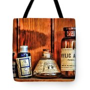 Pharmacy - Cocaine In A Bottle Tote Bag