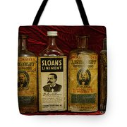 Pharmacy - Liniments For Sore Muscles Tote Bag