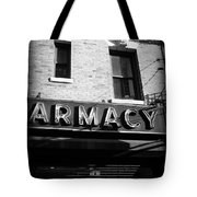 Pharmacy - Storefronts Of New York Tote Bag
