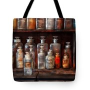 Pharmacy - The Chemistry Set Tote Bag by Mike Savad