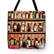 Pharmacy - The Medicine Shelf Tote Bag