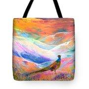 Pheasant Moon Tote Bag