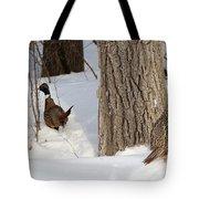 Pheasant Pair Tote Bag