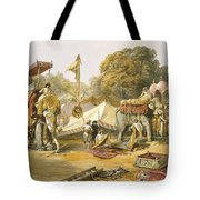 Pheel Khana, Or Elephants Quarters Tote Bag