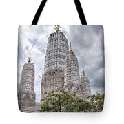 Phetchaburi Temple 17 Tote Bag