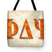 Phi Delta Psi - Parchment Tote Bag
