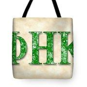 Phi Eta Kappa - Parchment Tote Bag