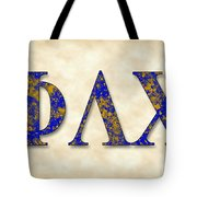 Phi Lambda Chi - Parchment Tote Bag