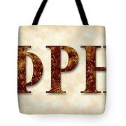 Phi Rho Eta - Parchment Tote Bag