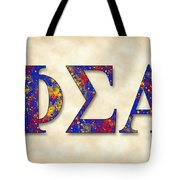 Phi Sigma Alpha - Parchment Tote Bag