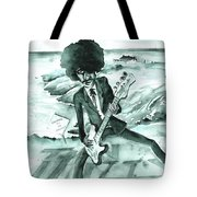 Phil Lynott In Howth Tote Bag