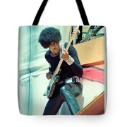 Phil Lynott Of Thin Lizzy - Black Rose Tour Day On The Green 7-4-79  Tote Bag