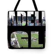 Philadelpha Eagles Tote Bag by Tom Gari Gallery-Three-Photography