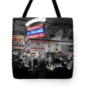 Philadelphia - Breakfast At Smucker's Tote Bag by Richard Reeve