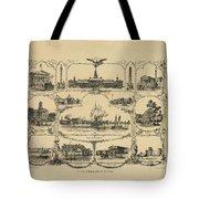 Philadelphia By James Fuller Queen Tote Bag
