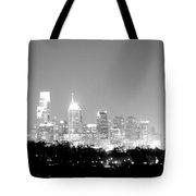 Philadelphia City Glow Tote Bag