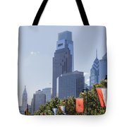 Philadelphia - City On The Rise Tote Bag