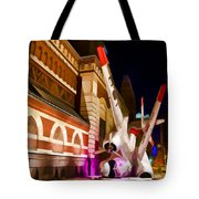 Philadelphia Crash Landing Tote Bag