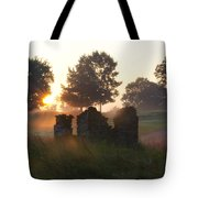 Philadelphia Cricket Club At Sunrise Tote Bag by Bill Cannon