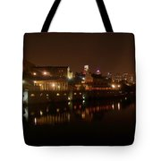Philadelphia From The Schuykill Tote Bag