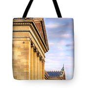 Philadelphia Museum Of Art Facade Tote Bag