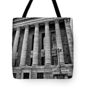 Philadelphia Museum Of Art - West Entrance Tote Bag