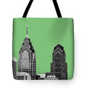 Philadelphia Skyline Liberty Place 2 - Apple Tote Bag