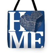 Philadelphia Street Map Home Heart - Philadelphia Pennsylvania R Tote Bag