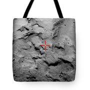 Philae Lander Touchdown Point On Comet Tote Bag