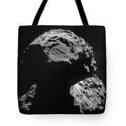 Philae Landing Site On Comet 67pc-g Tote Bag