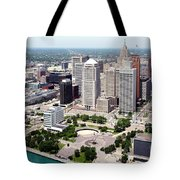 Philip A Hart Plaza Detroit Tote Bag