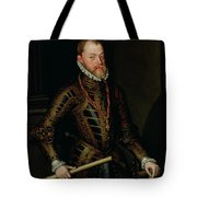 Philip II Of Spain C.1570 Tote Bag