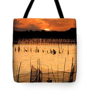 Philippines Manila Fishing Tote Bag by Anonymous