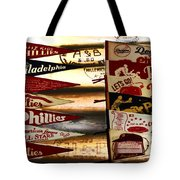Phillies Pennants Tote Bag