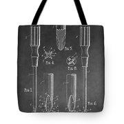 Phillips Screwdriver Patent Tote Bag