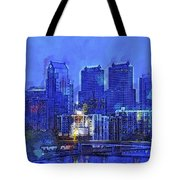 Philly Blue Tote Bag