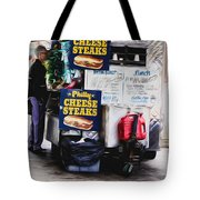 Philly Cheese Steak Cart Tote Bag