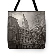 Philly City Hall Tote Bag