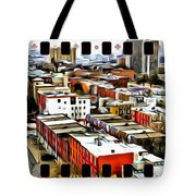 Philly Filmstrip Tote Bag by Alice Gipson