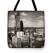 Philly In The Clouds Tote Bag