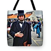 Philly Lincoln Tote Bag