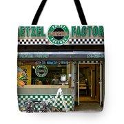 Philly Pretzel Factory Tote Bag
