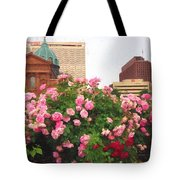 Philly Roses Tote Bag