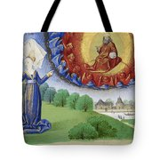 Philosophy Instructs Boethius On God Tote Bag by Getty Research Institute