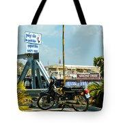 Phnom Penh Harbour Tote Bag