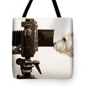Pho Dog Grapher Tote Bag