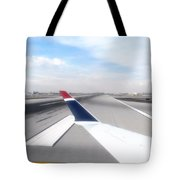 Phoenix Az Airport Wing Tip View Tote Bag