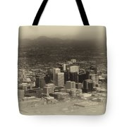Phoenix Az Downtown 2014 Heirloom Tote Bag