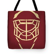 Phoenix Coyotes Goalie Mask Tote Bag